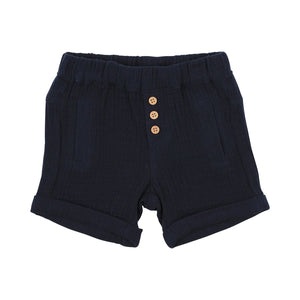 The River Crinkle Short Navy