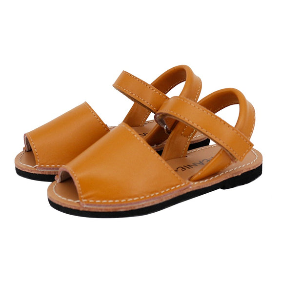 Skeanie Kids Avarcas Sandals Tan