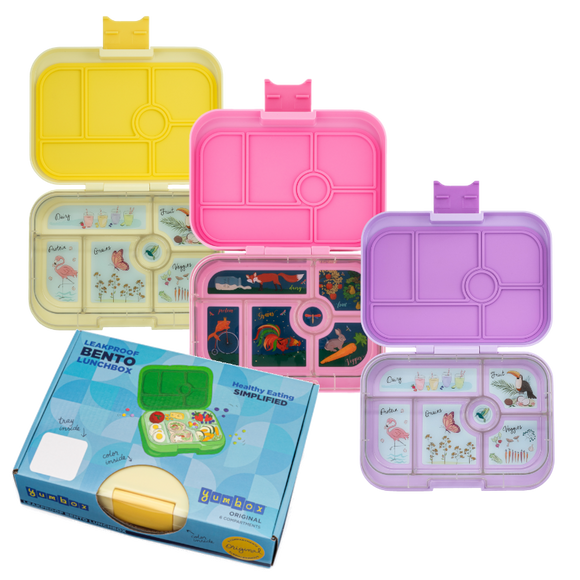 Yumbox Original 6 Compartments