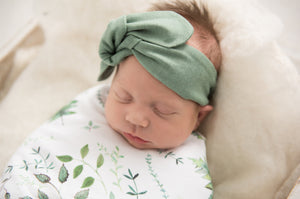 Enchanted Baby Jersey Wrap Set