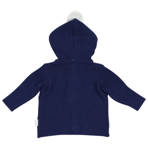 Bunny Knit Jacket Navy