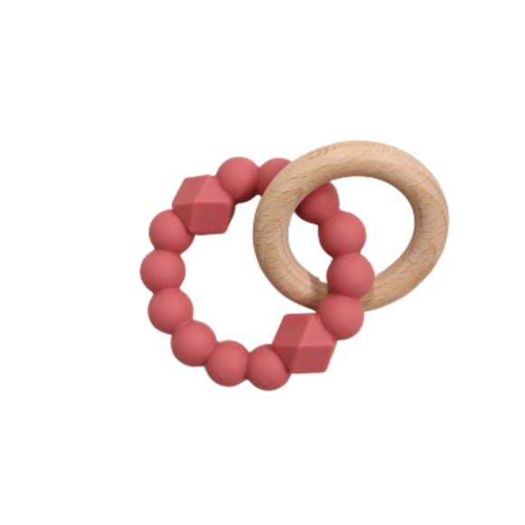 JS Moon Teether Mauve