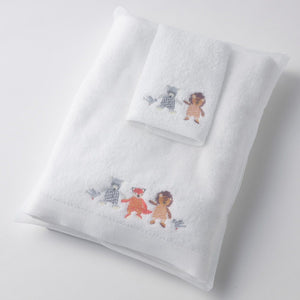 Forest Friends Bath Towel & Washer