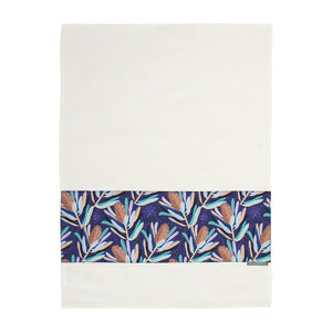 Tea Towel Banksia Dark