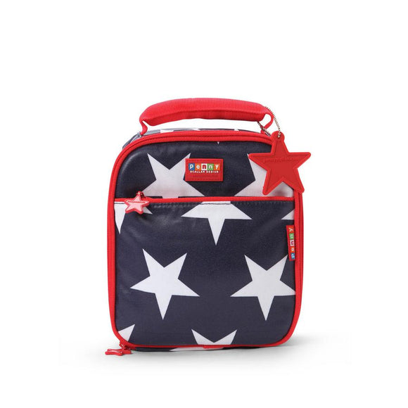 Penny Scallan Lunchbox Navy Star