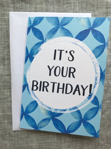 It's Your Birthday Card Lge