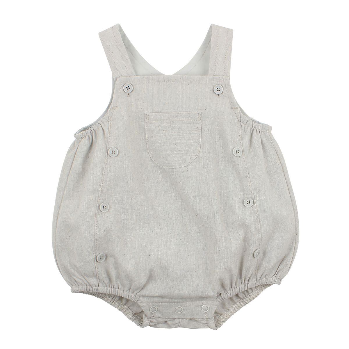 Harry Button Front Romper