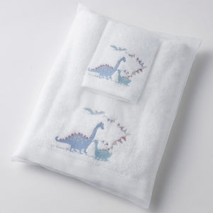 Baby Dino Towel & Washer Set
