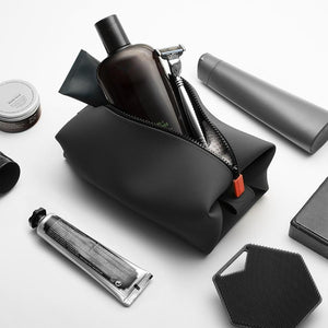 The Koby Bag Toiletry Kit Charcoal
