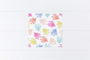 Colourful Leaves Gift Tag