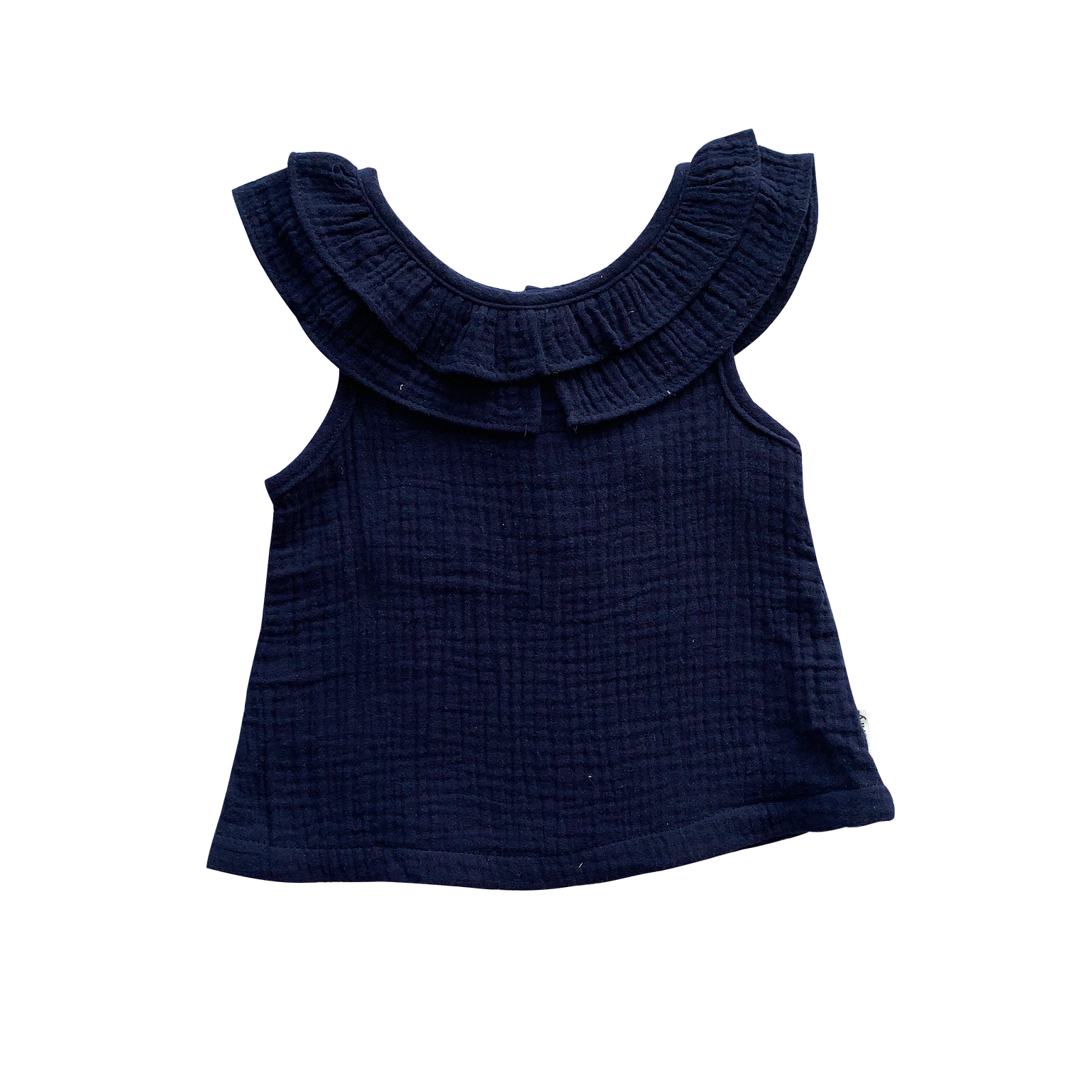 Baby Girls Polly Top Navy
