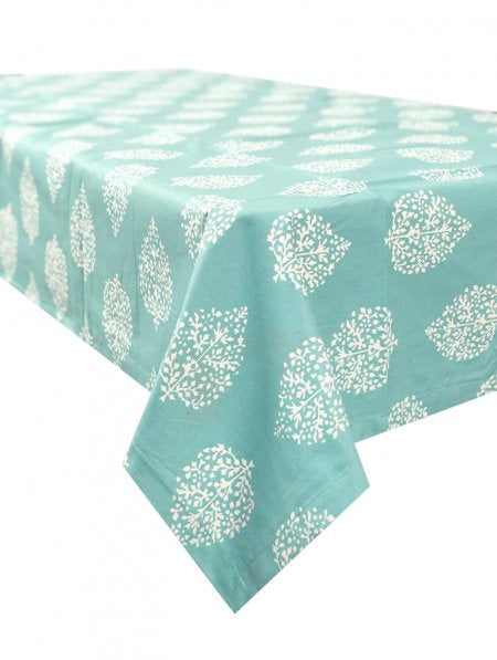 Avalon Sea Grass Tablecloth 150x150cm Coated