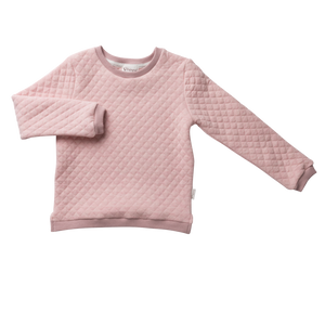 Sweatshit Pink Quilted