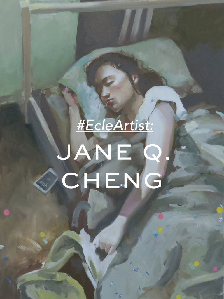 #ECLEartist Jane Q Cheng