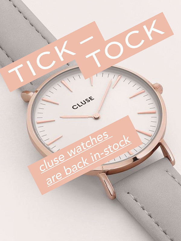 #EcleFeature CLUSE watches