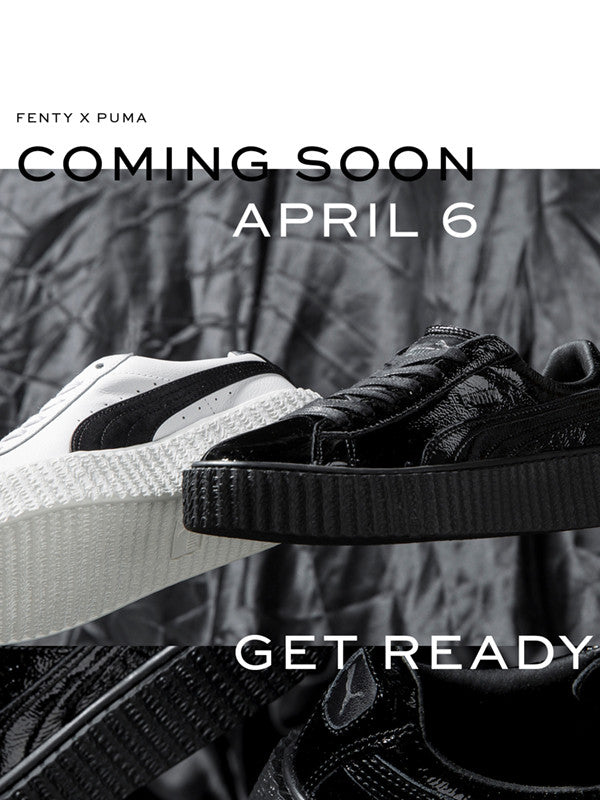 The CREEPERS by FENTYxPUMA are coming