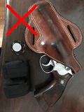 Holster must cover the trigger guard