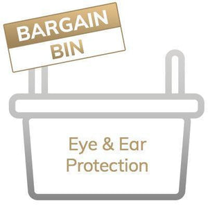 Bargain Bin: Ear & Eye Protection - Final Sale, No Returns