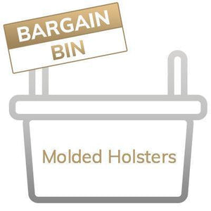 Bargain Bin: Kydex & Leather Holsters - Final Sale, No Returns