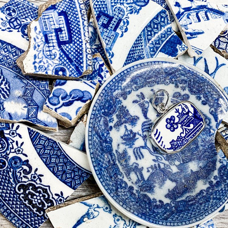 Classic Blue Willow Pattern