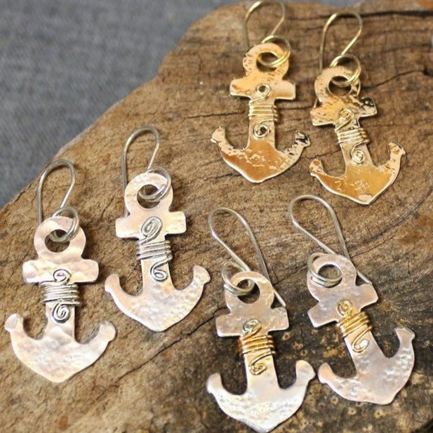 Anchor Jewelry - Earrings