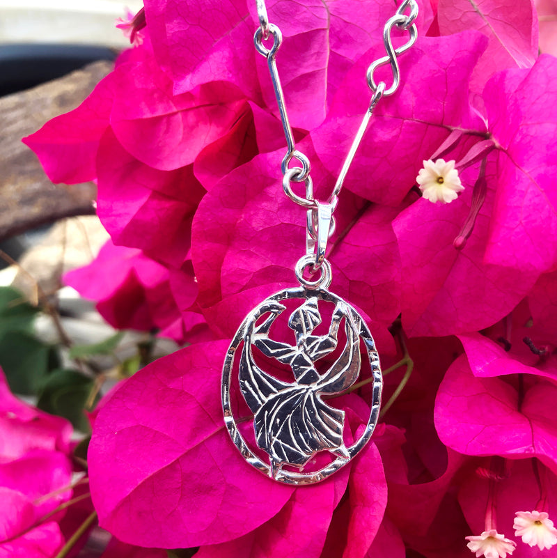 Caribbean Dance Company Sterling Silver Pendant