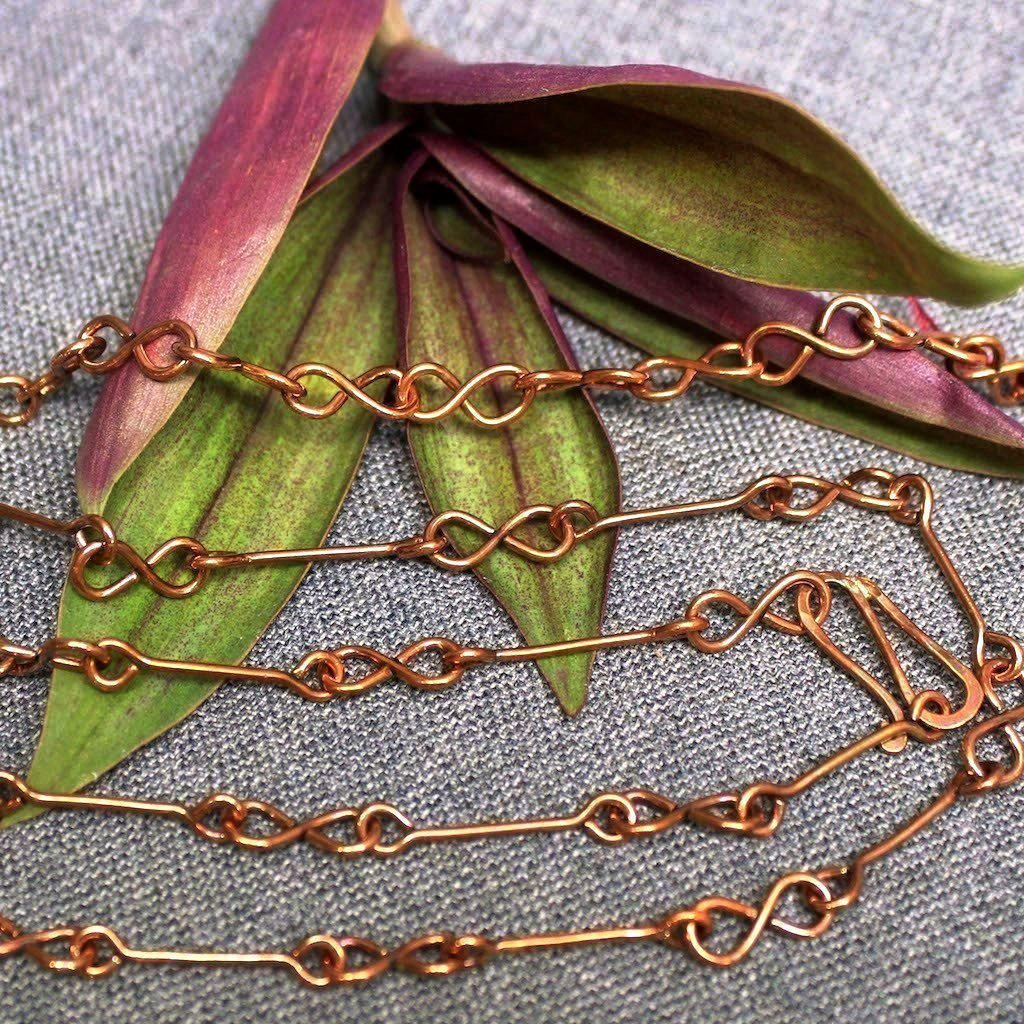 Copper Infinity Chain