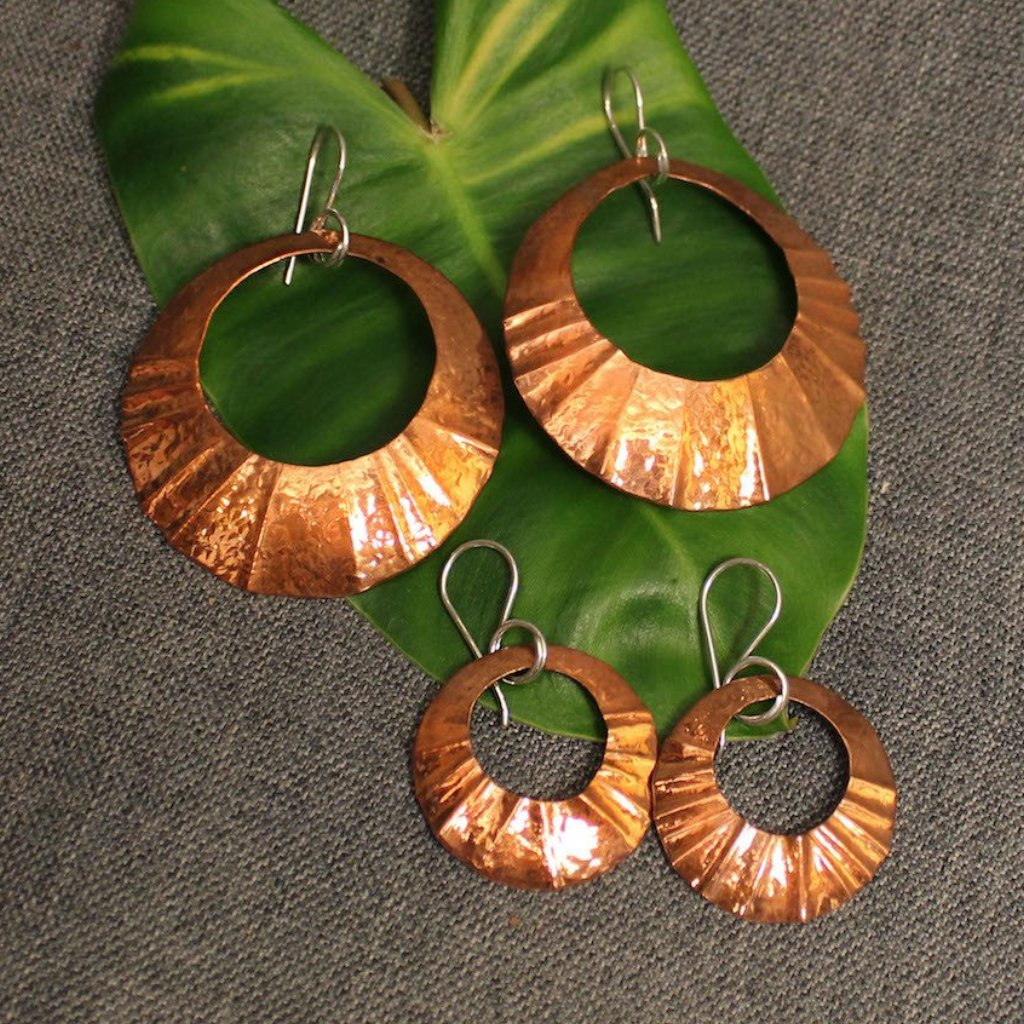 Gypsy Copper Earrings