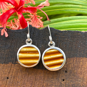 Caramel Ridge Sterling Silver Earrings