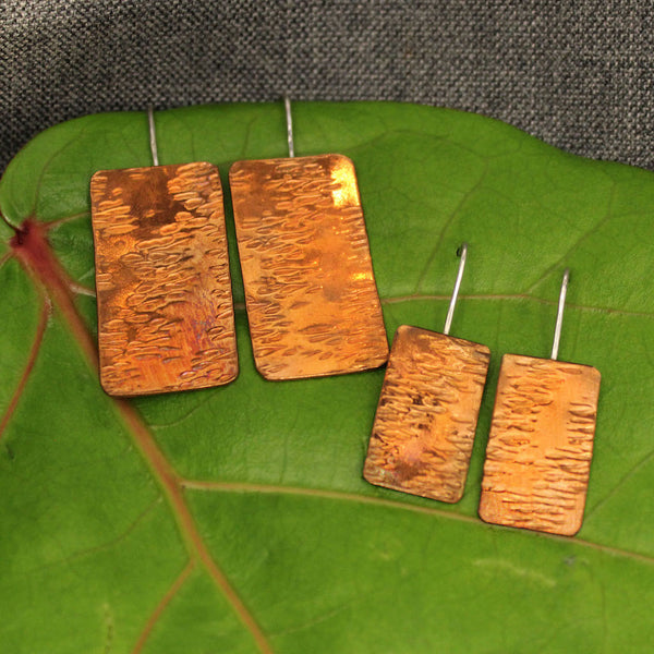 Reflections Copper Earrings