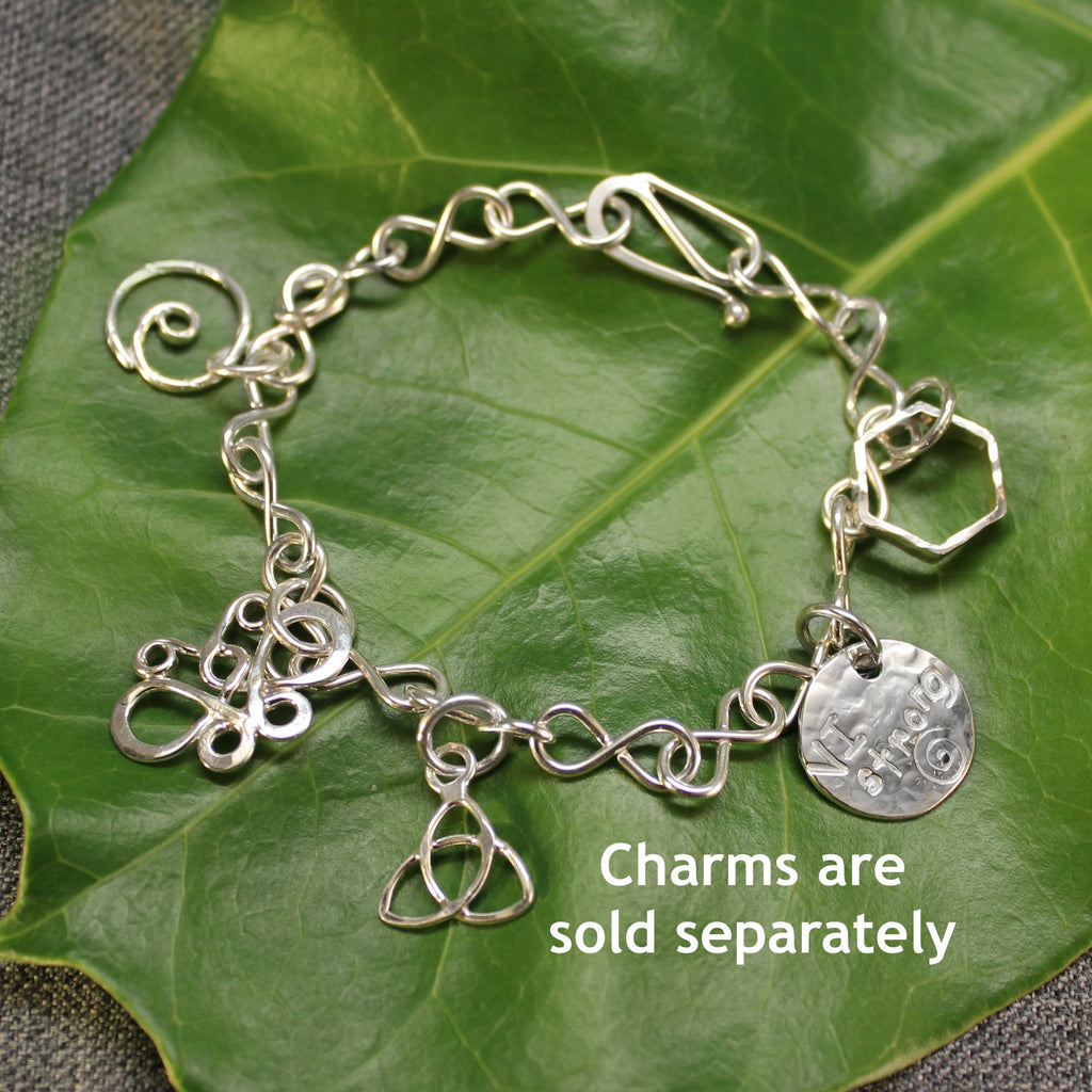 Build-Your-Own Infinity Charm Bracelet