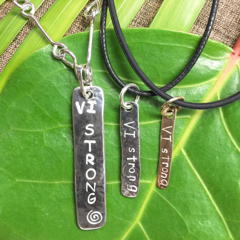 VI Strong Tag Pendant