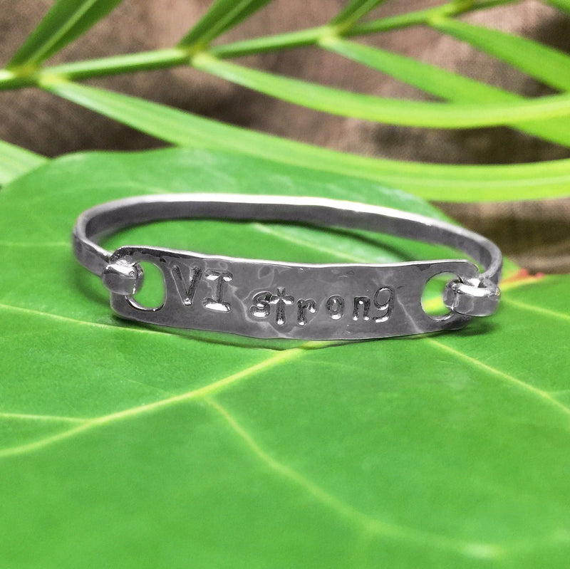 VI Strong Sterling Silver Latching Child Bracelet