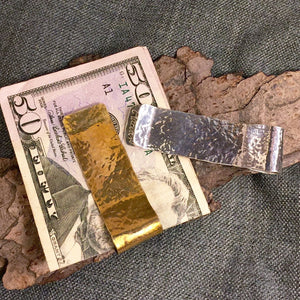 Hammered Money Clip