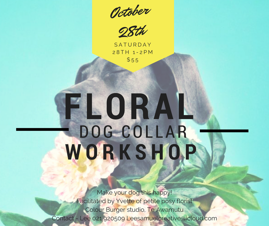 Floral Dog Collar Workshop
