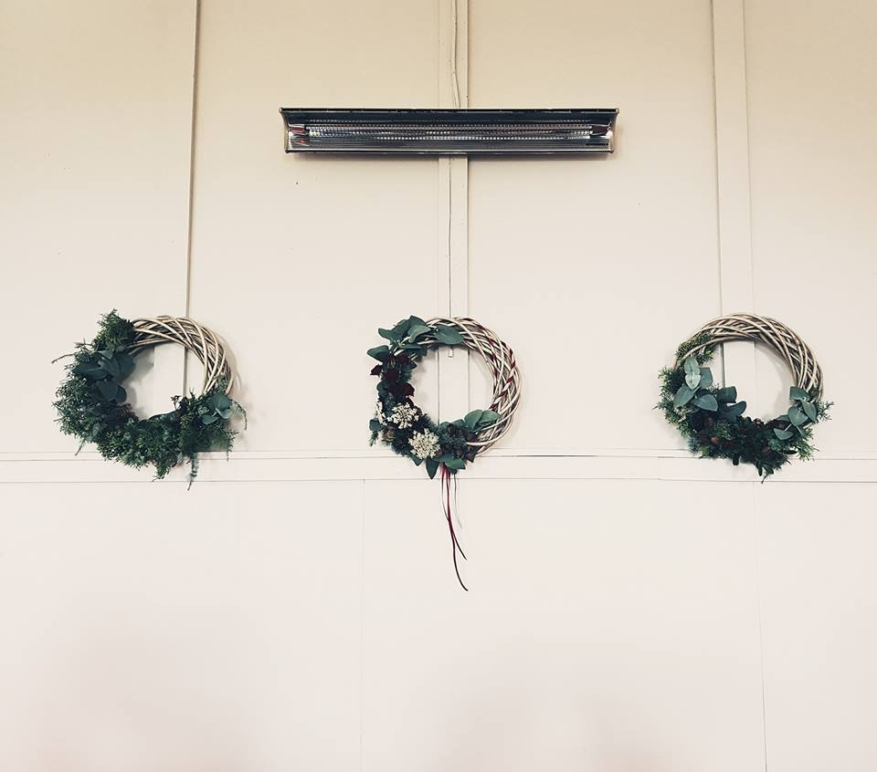 Waikato Christmas Wreath Workshop 2017