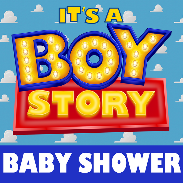 Boy Story Baby Shower