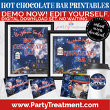 Polar Express Hot Chocolate Bar Printables, Hot Cocoa, Winter Express Train, INSTANT DOWNLOAD