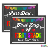 INSTANT DOWNLOAD First and Last Day of First Grade