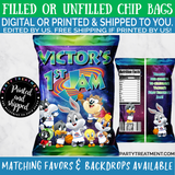 Space Jam Birthday or Baby Shower Chip Bag