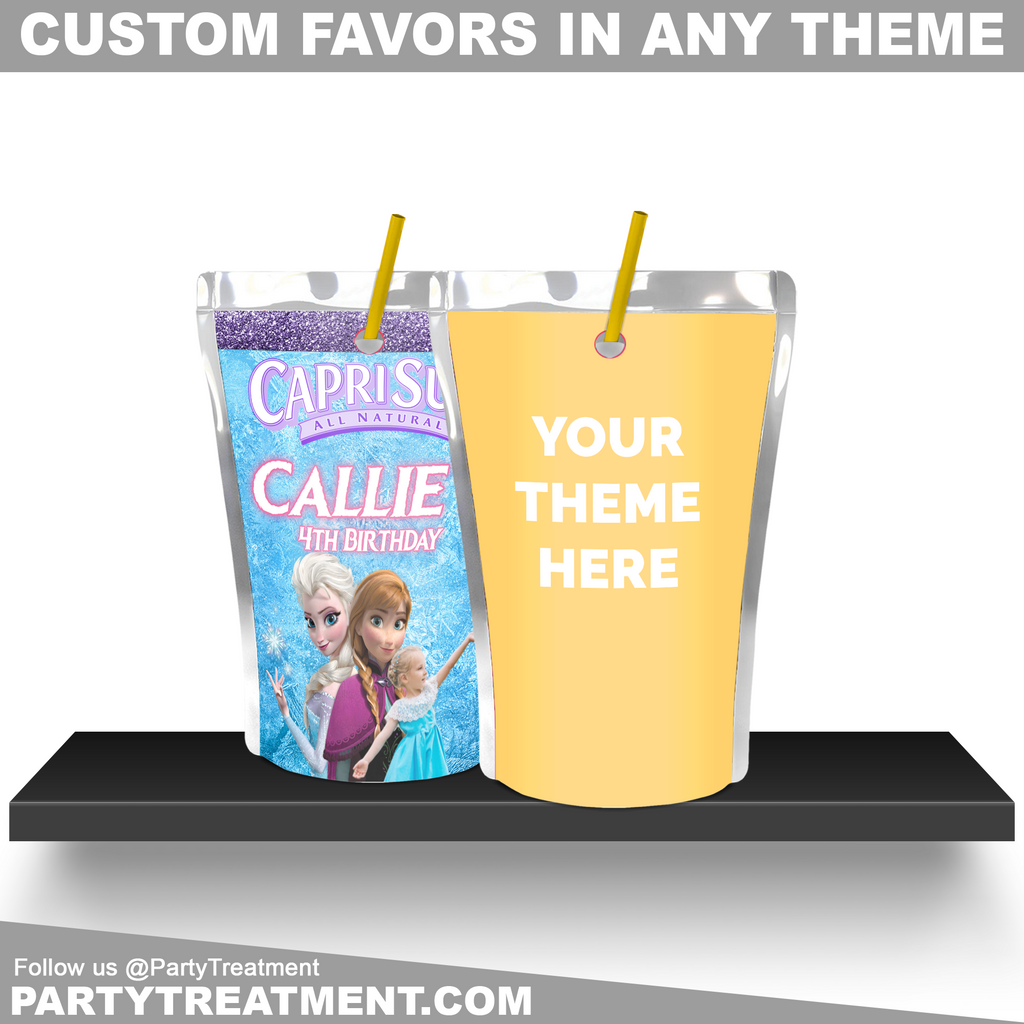 Custom Juice Pouch Labels