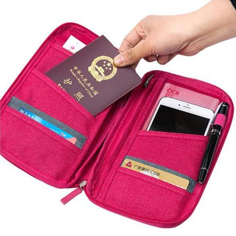 Womens Travel Wallet Organizer