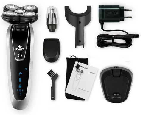 3 in 1 Washable Rechargeable Electric Shaver