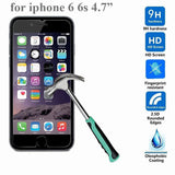 Tempered Glass Screen Protector Kit For iPhone 4/4s, 5/5s, 6/6+, 7/7+