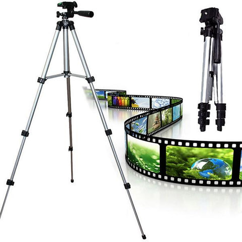 345~1020mm Universal Portable Aluminium Camera Tripod Image