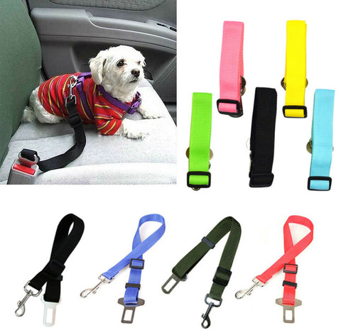 Adustable Dog Safety Seatbelt