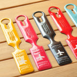 Happy Flight Designer Luggage & Suitcase Tags - Freedom Travel Gear