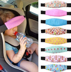 Childs Adjustable Stroller Head Support Band For Safety & Neck Relief - Freedom Travel Gear