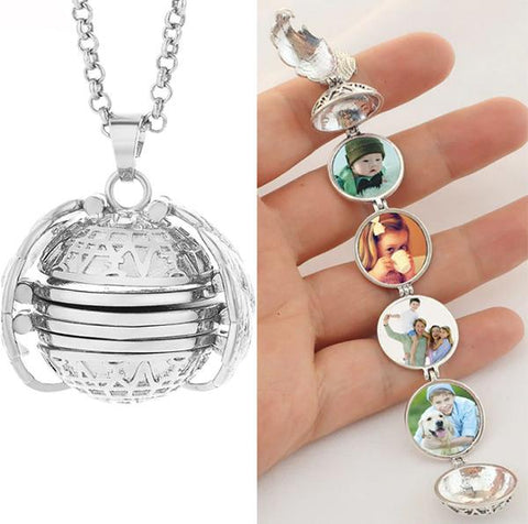 Exclusive Handmade Multi-Photo Locket