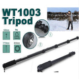 Lightweight Professional Alloy Camera Tripod/Monopod